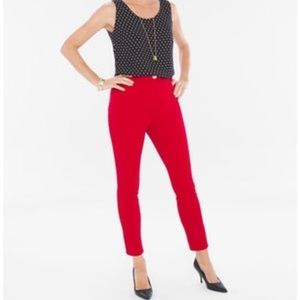 🎉hP🎉 So Slimming Chico red pants
